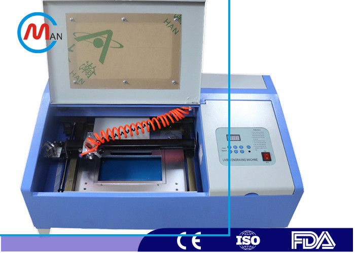 High Precision Rubber Stamp Mini Laser Cutting Machine For Home Water Cooling