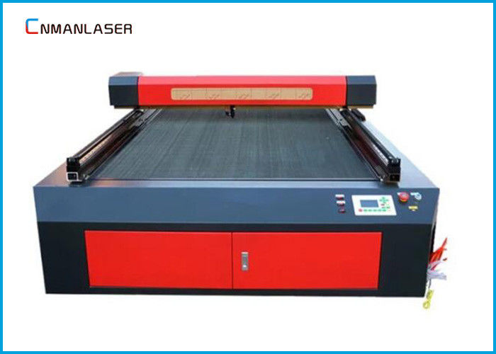Double Head  Cnc CO2 Laser Cutting Machine 150w 180w For Diesel Jeans Acrylic Fabric