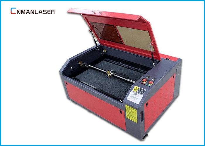 6040 50w CO2 Mini Cnc Laser Cutting Machine For Leather 50HZ / 60HZ