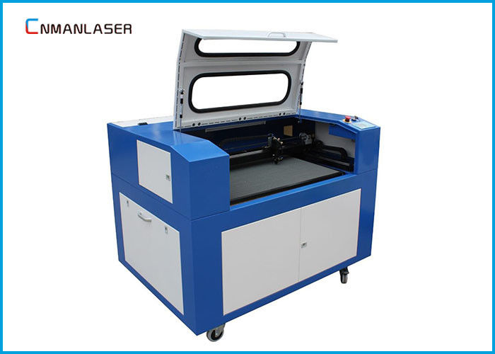 6090 100w Laser Engraver Cutter Machine With RD Control System HIVIN Square Rails
