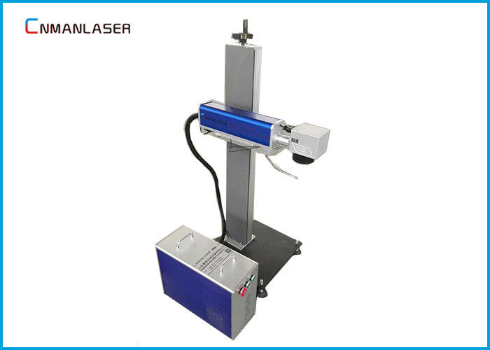 20w CO2 Laser Marking Machine For Bar Code Cardboard , Small Scale Sliding Platform