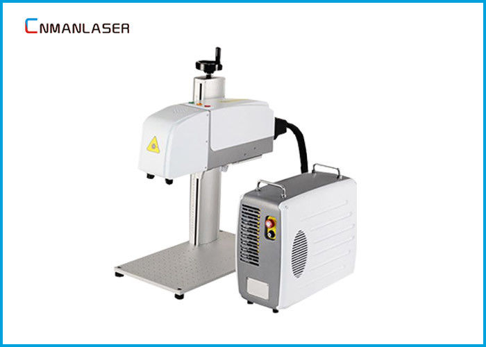 Carbon Steel CNC Fiber Marking Machine 3D Dynamic Auto Focus Large Size