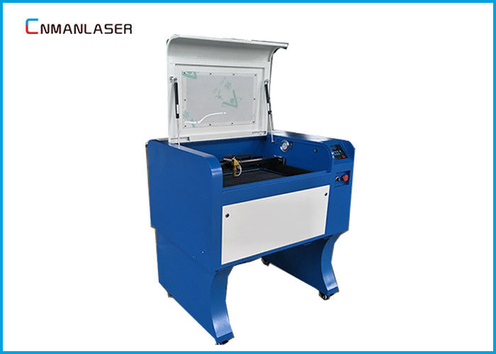 Rubber Plates Laser Leather Cutting Machine 60W 110 / 220V With USB Port