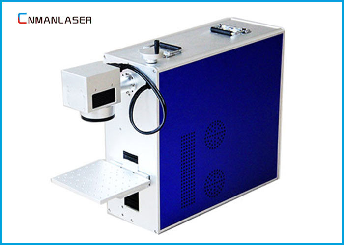 Mini 20w Leather Plastic Metal Fiber Laser Marking Machine Portable English Version