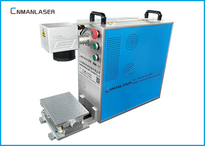 Desk Type Fiber Laser Metal Engraving Marking Machine With USB Interface Ezcad Software